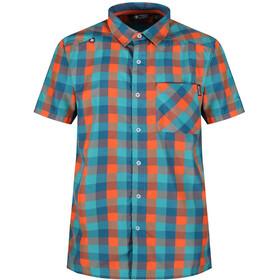 Regatta Kalambo III Miehet Lyhythihainen paita , oranssi/sininen